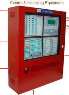 Vanguard V5 Hybrid Fire Alarm Panel