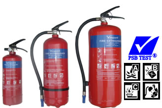 Vanguard ABC Dry Powder Extinguisher